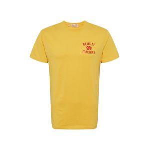 DEUS EX MACHINA Tričko  červená / žlutá
