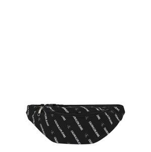 Calvin Klein Jeans Taška přes rameno  šedá / bílá / černá