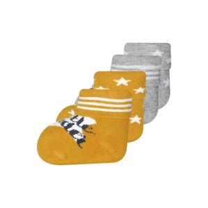 EWERS Ponožky  šedá / žlutá