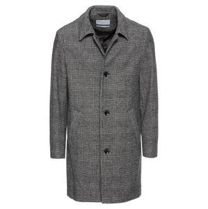 Esprit Collection Přechodný kabát 'Check Mac Coat'  šedá