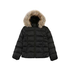 TOMMY HILFIGER Zimní bunda 'ESSENTIAL BASIC DOWN JACKET'  černá