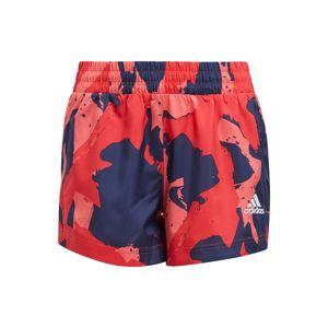 ADIDAS PERFORMANCE Sportovní kalhoty  červená / růžová / námořnická modř