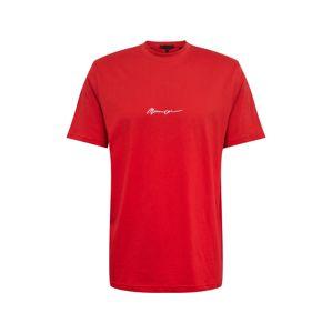 Mennace Tričko  červená