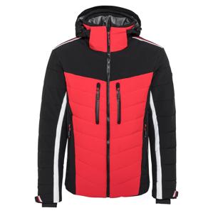 LUHTA Outdoorová bunda 'HASSI'  červená / černá / bílá