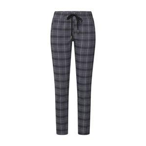 Zwillingsherz Kalhoty 'Kariert'  šedá / černá