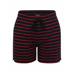 ONLY Carmakoma Kalhoty 'SCAN'  tmavě modrá / vínově červená