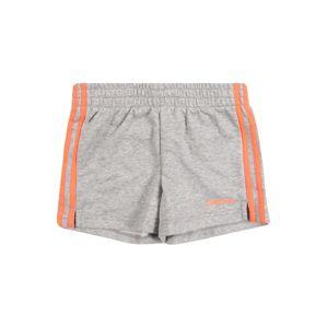 ADIDAS PERFORMANCE Sportovní kalhoty 'Short'  šedá