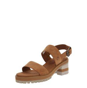 TIMBERLAND Páskové sandály 'Violet Marsh'  karamelová