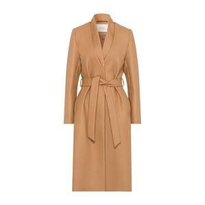 IVY & OAK Přechodný kabát  světle béžová