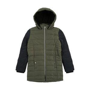 ESPRIT Zimní bunda  khaki / černá