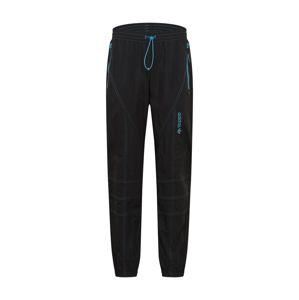 ADIDAS ORIGINALS Kalhoty  černá / světlemodrá