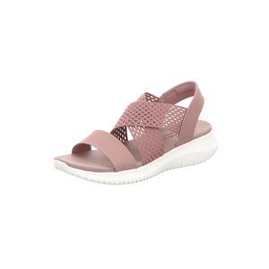 SKECHERS Páskové sandály  růže