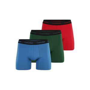 Calvin Klein Underwear Boxerky  světlemodrá / tmavě zelená / červená