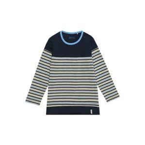 ESPRIT Tričko 'TEE-SHIRT'  námořnická modř / šedá