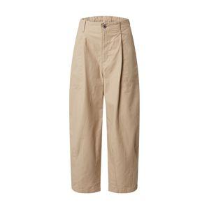 LEVI'S Kalhoty se sklady v pase 'UTILITY PLEATED BALLOON'  béžová