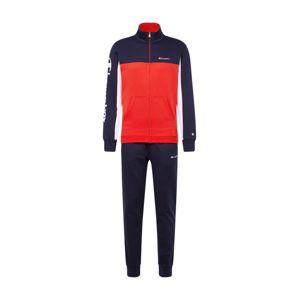 Champion Authentic Athletic Apparel Domácí oblečení 'Full Zip Suit'  námořnická modř / červená / bílá