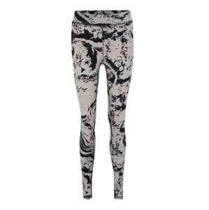Casall Sportovní kalhoty 'Casall Ease 7/8 Tights'  černá / bílá
