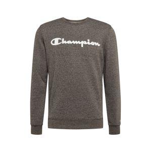 Champion Authentic Athletic Apparel Mikina  bílá / šedý melír