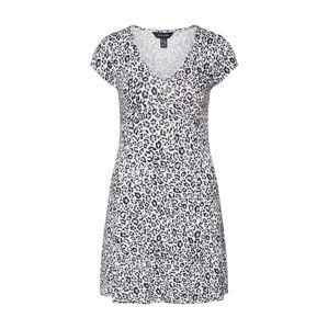 NEW LOOK Šaty 'PETER'  šedá / černá / bílá