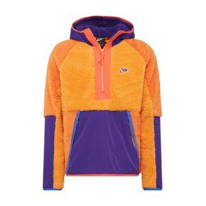 Nike Sportswear Svetr  fialová / oranžová