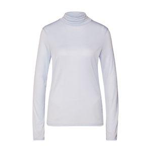 Filippa K Tričko 'Tencel Polo Neck Top'  světlemodrá