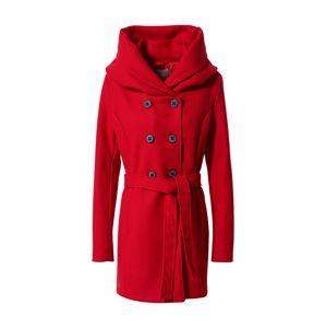 Amber & June Zimní kabát  červená