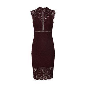 Bardot Koktejlové šaty 'PARIS'  bordó