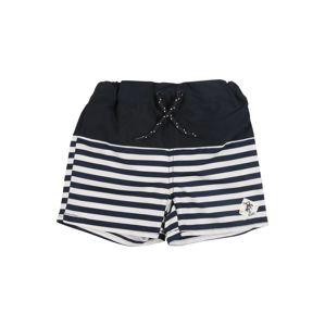 NAME IT Plavecké šortky 'ZALO'  bílá / modrá / červená
