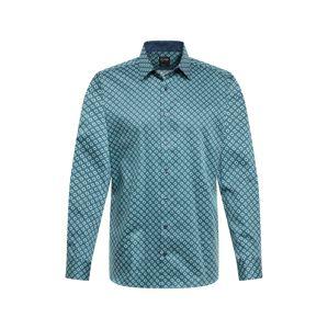 OLYMP Společenská košile 'Level 5 Print'  zelená