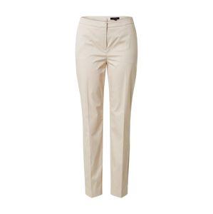 COMMA Kalhoty  světle béžová