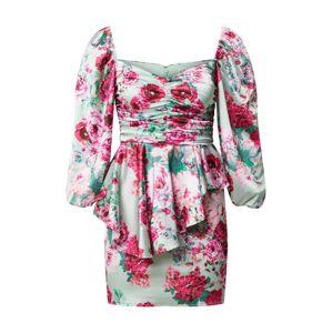 For Love & Lemons Koktejlové šaty 'ROBIN'  pink / mátová