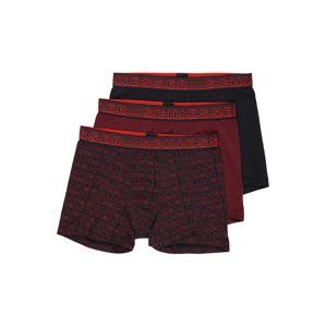 SCHIESSER Spodní prádlo  tmavě fialová / tmavě modrá / tmavě červená