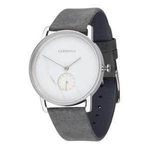 Kerbholz Analogové hodinky 'Frida'  šedá / stříbrná