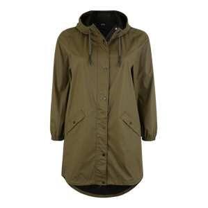 Zizzi Přechodný kabát  khaki / olivová