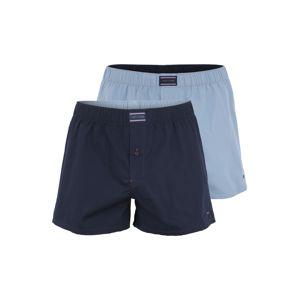 Tommy Hilfiger Underwear Boxerky 'Woven'  námořnická modř / světlemodrá