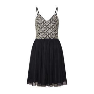 LACE & BEADS Společenské šaty 'Ronda Dress'  mix barev / černá
