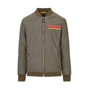 KILLTEC Funkční bunda 'Dageno'  khaki / oranžová / korálová