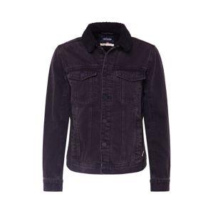 BLEND Přechodná bunda  černá džínovina