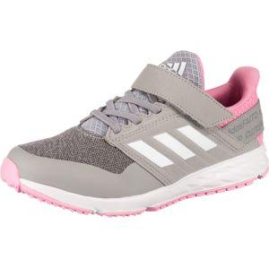 ADIDAS PERFORMANCE Sportovní boty  bílá / pink / čedičová šedá