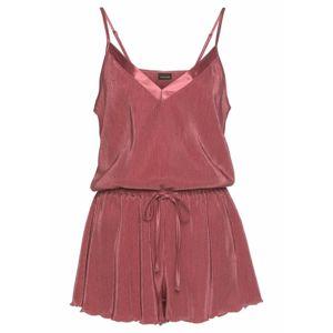 LASCANA Pyžamo  pastelově červená
