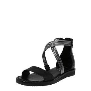 MJUS Páskové sandály 'TEMPLE'  černá