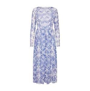 Rich & Royal Šaty  modrá / mix barev / bílá
