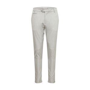Les Deux Kalhoty  šedý melír