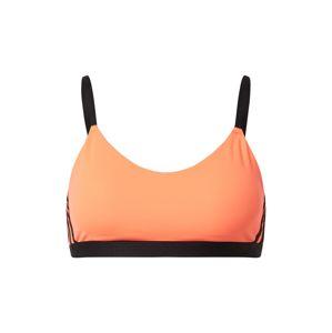 ADIDAS PERFORMANCE Sportovní podprsenka  černá / oranžová