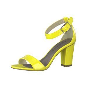 TAMARIS Páskové sandály 'Pump mit Schnalle'  žlutá