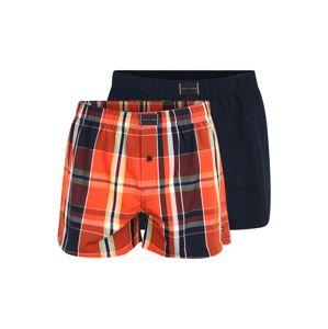 Tommy Hilfiger Underwear Boxerky  krvavě červená / námořnická modř