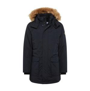 Calvin Klein Jeans Zimní parka  černá / světle hnědá