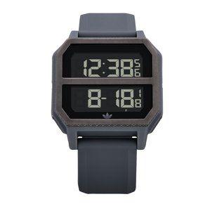 ADIDAS ORIGINALS Digitální hodinky 'Archive_R2'  tmavě šedá