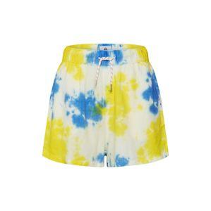 QUIKSILVER Kalhoty 'ELASTILINSHT'  žlutá / modrá