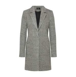 ONLY Zimní kabát 'STONE WOOL COAT'  světle šedá / šedý melír